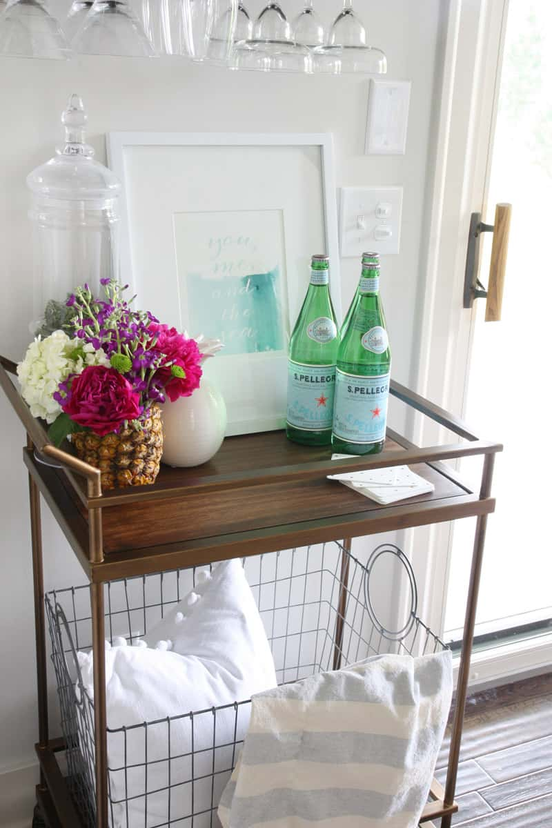 Summer Bar Cart - Life On Virginia Street