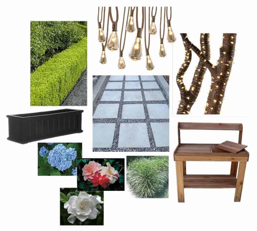 Lowe's Spring Makeover Landscaping Design Board