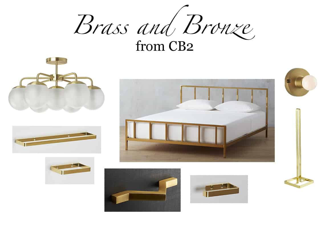 Favorite Things Friday Vol. 14 brass and bronze cb2