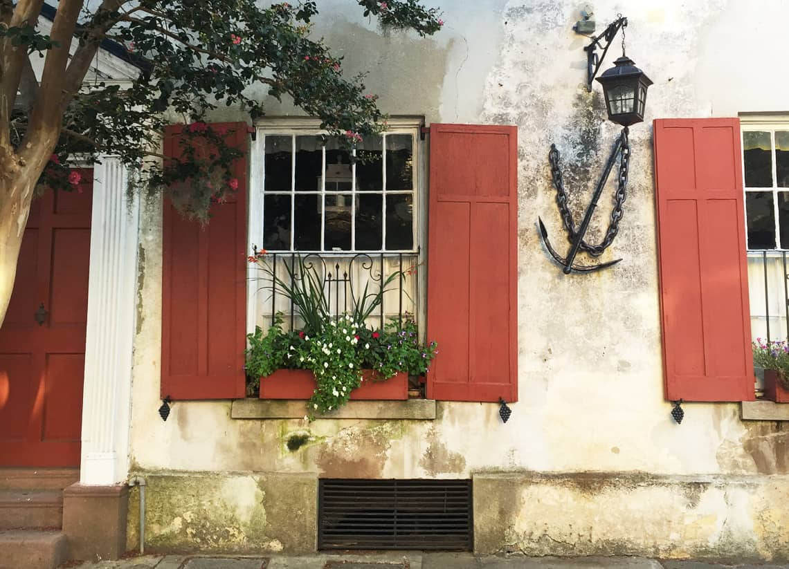 Roadtrip Reality: Charleston Window Boxes Red