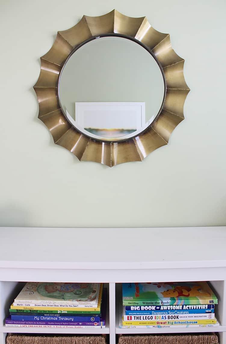 Big Boy Room: Small Change, Big Impact ikea sofa table