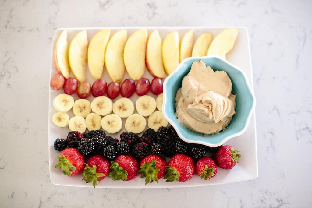 Weight Watchers Peanut Butter Fruit Dip