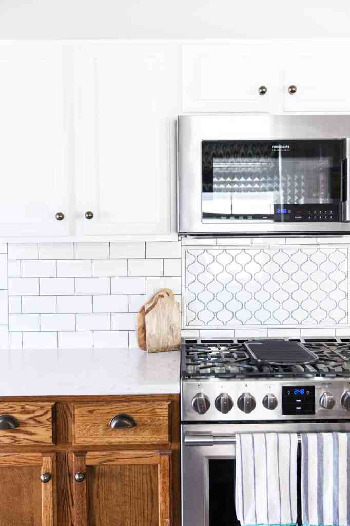 Our Kitchen Renovation: A Year-ish Later-backsplash