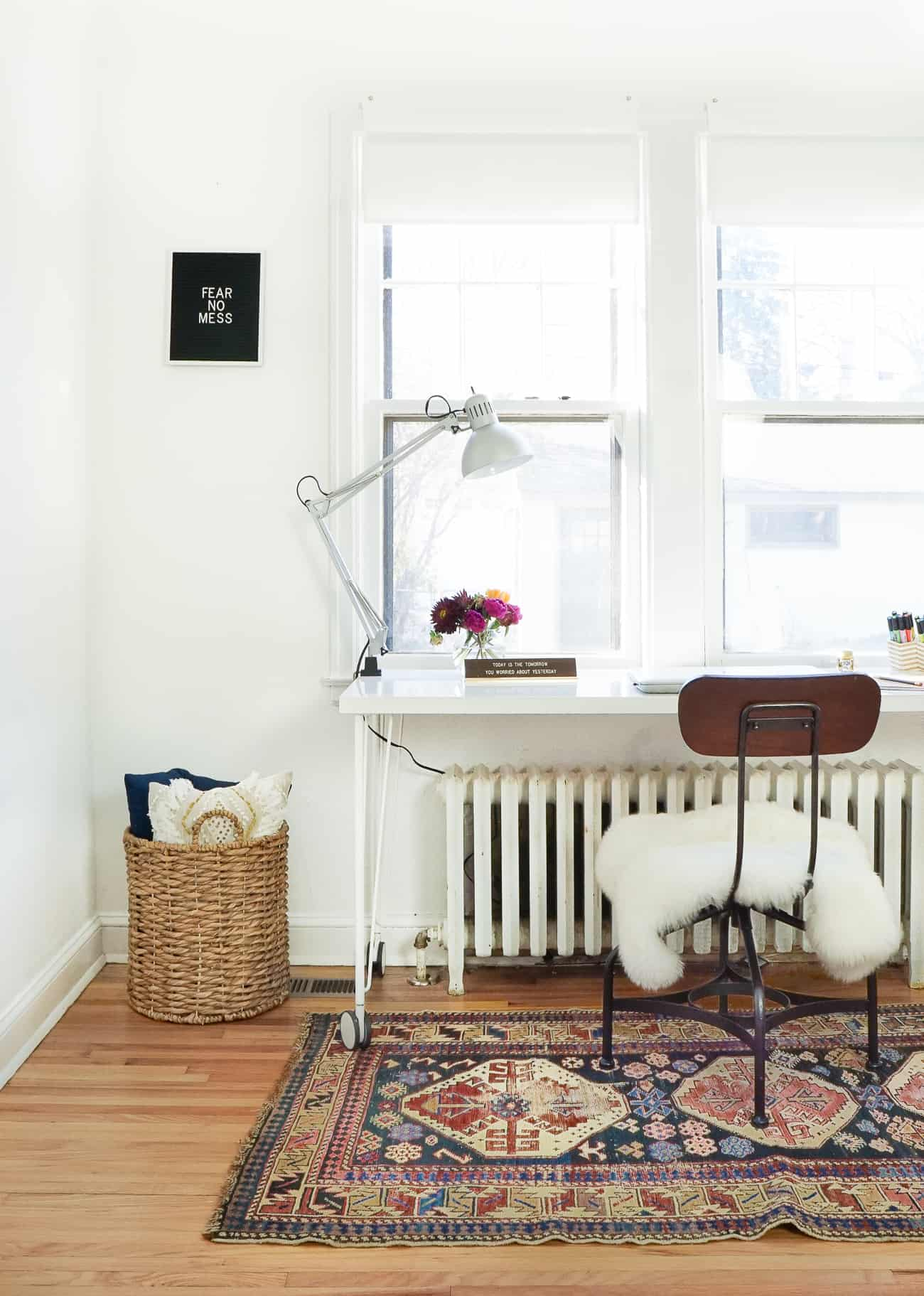 Home of the Month: Sunny Home of Francois et Moi-desk