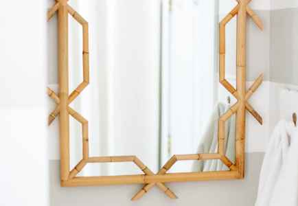 Our New Serena & Lily Bathroom Mirror