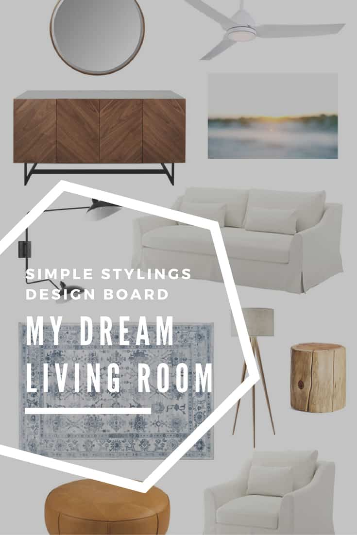 My Dream Living Room Design Board Modern and Casual