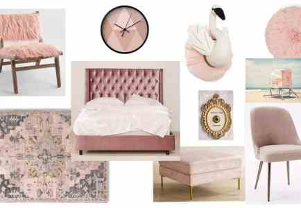 A Color Story: Beautiful Blush Pink Home Decor