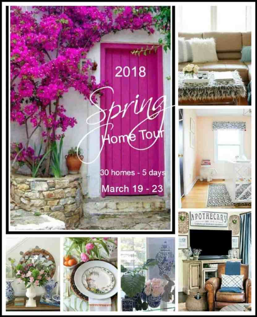 Spring 2018: A Wannabe Minimalist Home Tour blog hop