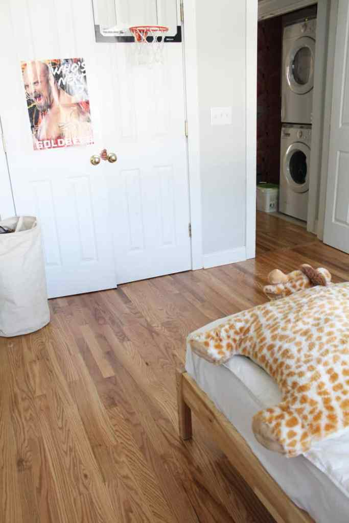 Before + After: New & Refinished Hardwood Floors after kid room