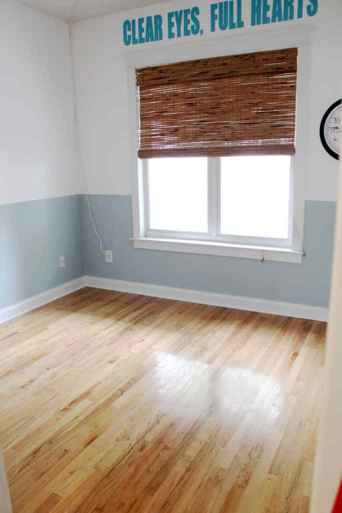 Before + After: New & Refinished Hardwood Floors playroom