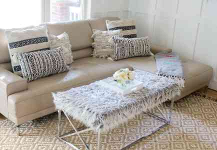 Throw Pillows Styled Three Ways with At Home