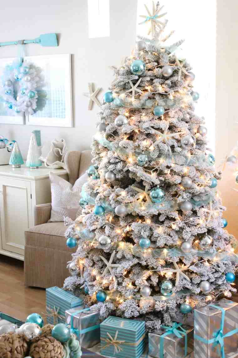 top 5 friday favorite christmas decorating themes coastal - Coastal Christmas Decorations For Sale