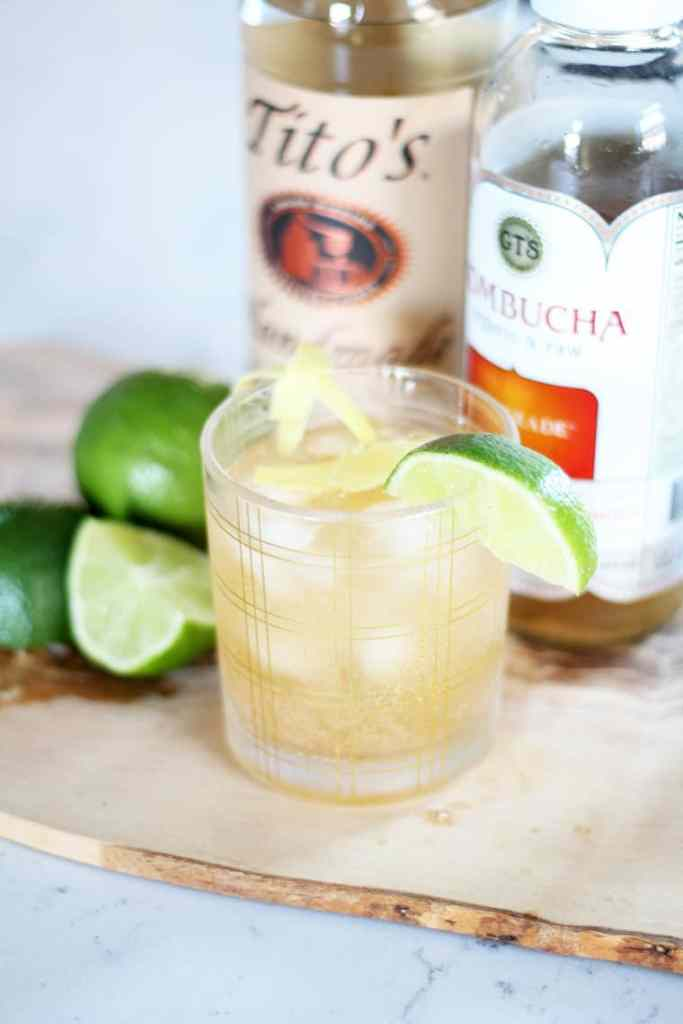 A Clean Ginger Cocktail Recipe drink