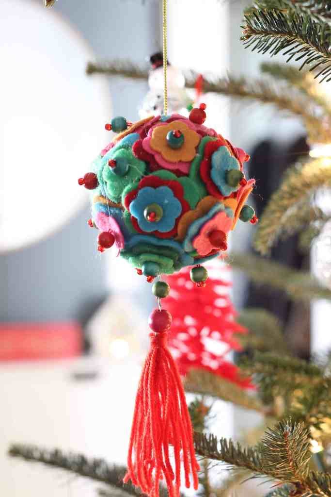 festive folk christmas ornament