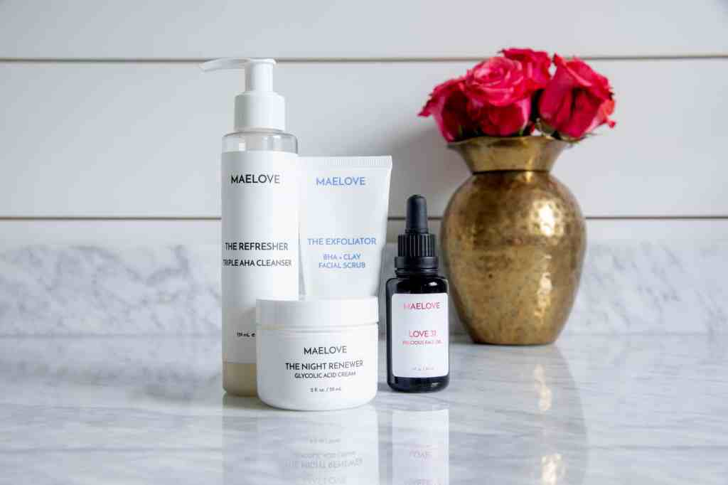 Healthy Habits: My Nighttime Skincare Routine with Maelove + Simple Stylings + Clear Skin Kit