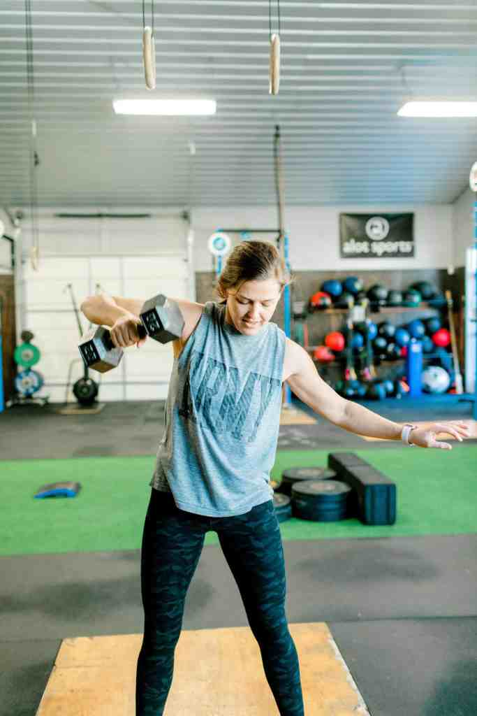 How CrossFit Changed My Life dumbbell