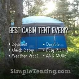 cabin tent pin