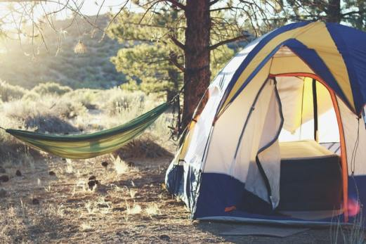 place your tent in the best location