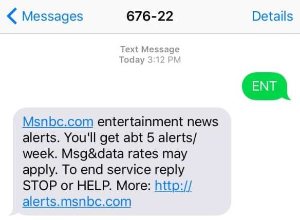 How to use SMS marketing? Some news outlets send timely alerts