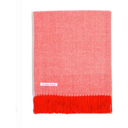 Rio red throw