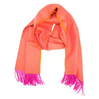 Diamond Pink Orange Scarf