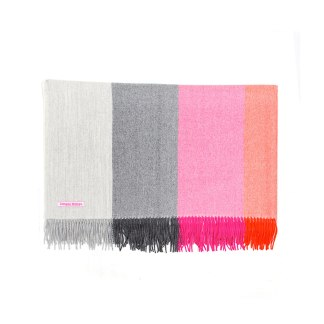 Horizon Pink-Orange Throw