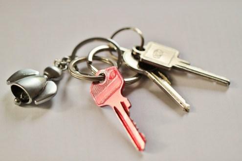 House Keys Shut Off Key Door Key Security Keychain