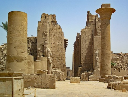 Karnak Weltwunder Temple Egypt Antiquity