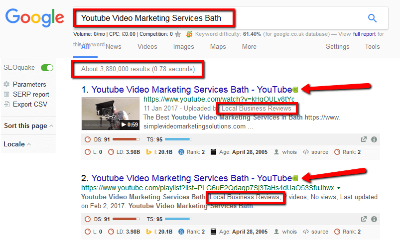 Results | Simple Video Marketing Solutions