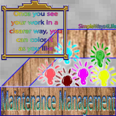 recolor your work perception