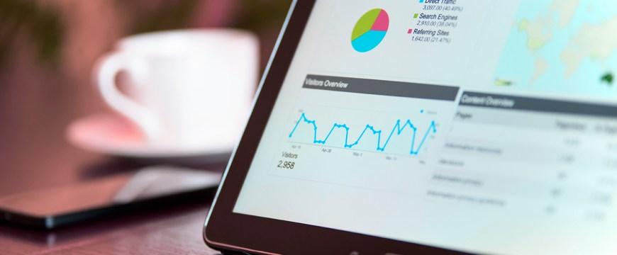 Gráficos y datos que sirven para analizar tráfico y posicionamiento SEO
