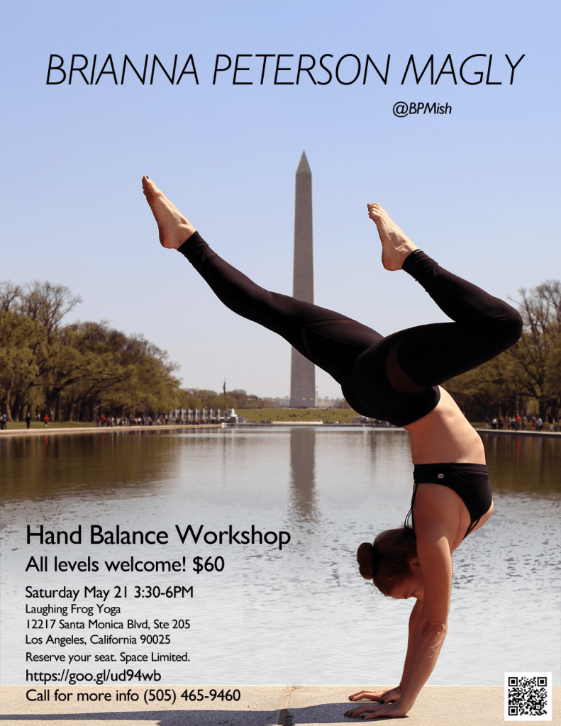 Brianna Peterson Magly - Hand Balance Workshop