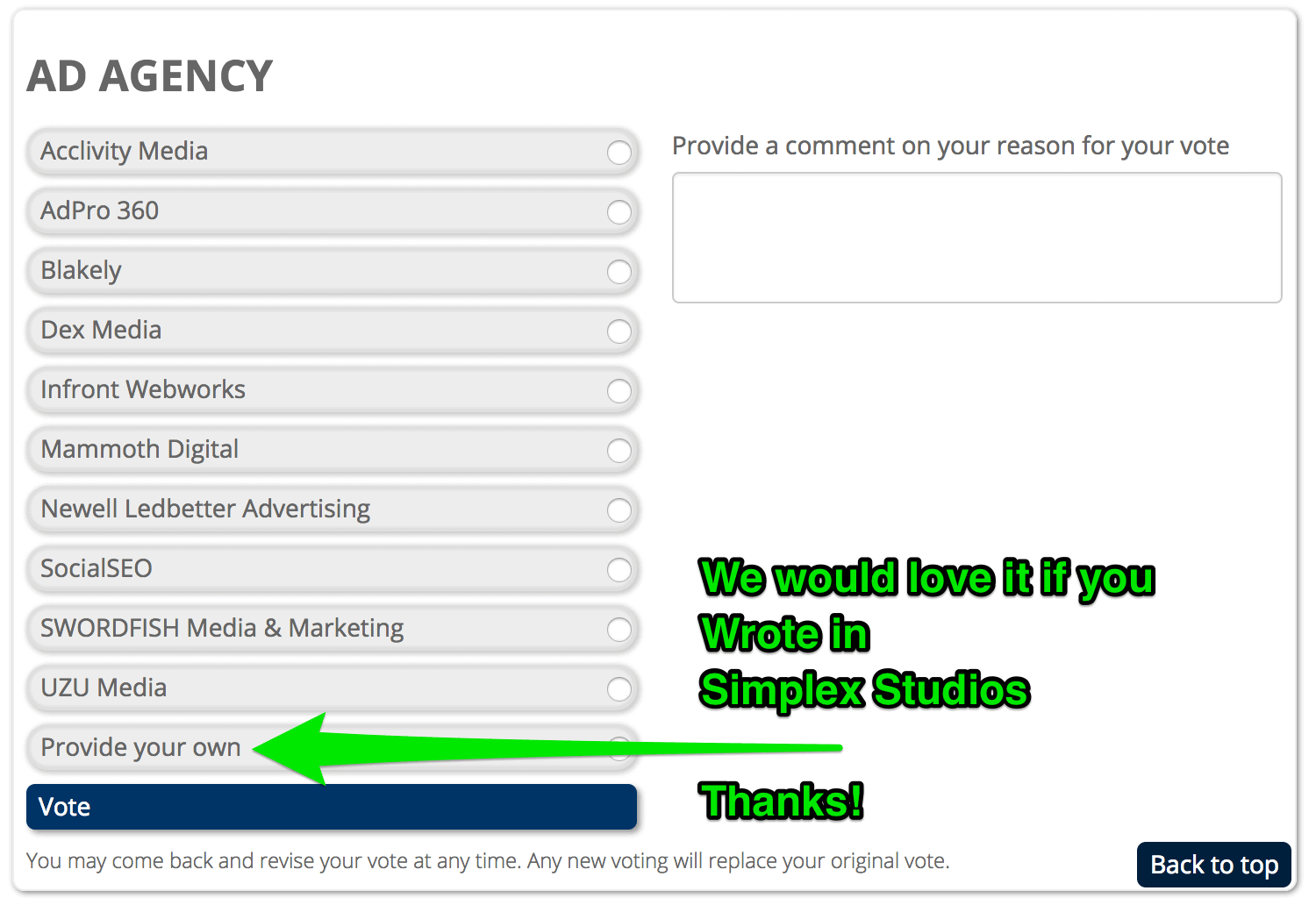 The_Best_of_the_Springs_voting_simplex_studios