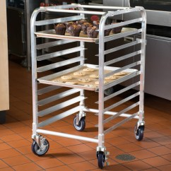 Speed Racks For Kitchen Lowes Farmhouse Sink 10 Tier Aluminum Sheet Pan Rack With 3 Spacing In