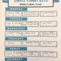 Ketogenic Meal Plan
