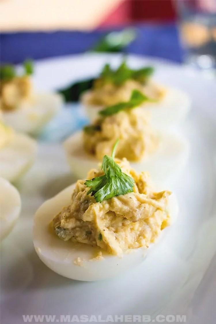 spicy keto eggs