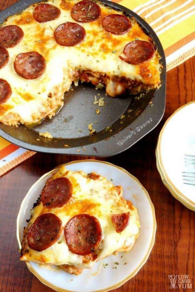 low deep dish pan pizza
