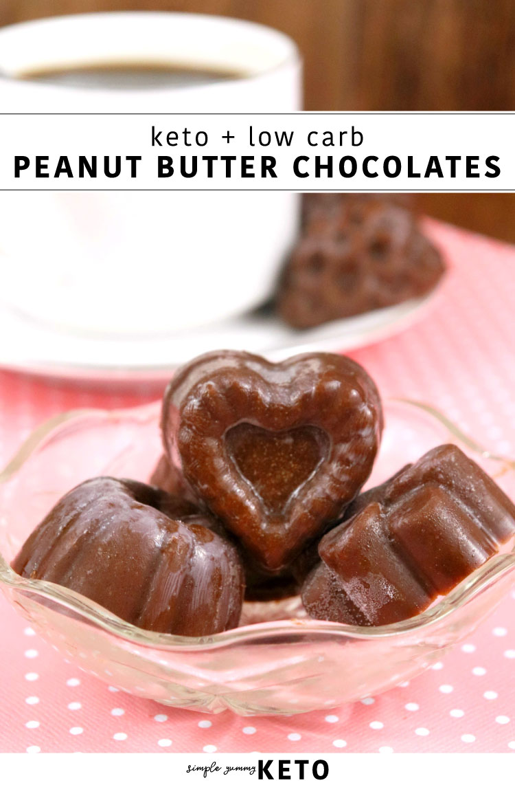 keto low carb peanut butter chocolate fat bomb dessert