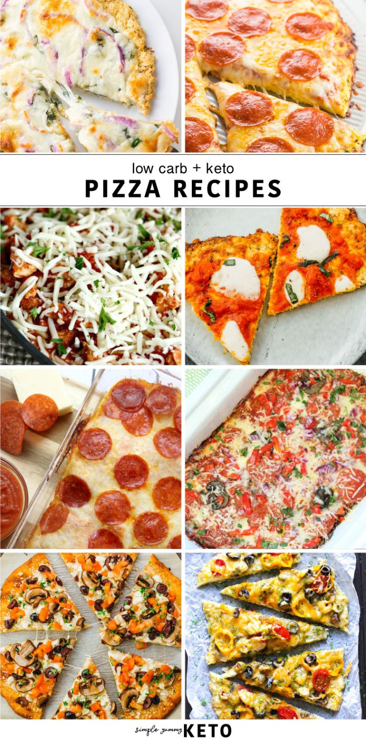 keto / low carb pizza recipes that everyone loves