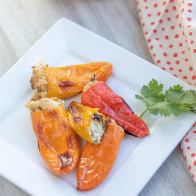Roasted Stuffed Sweet Peppers
