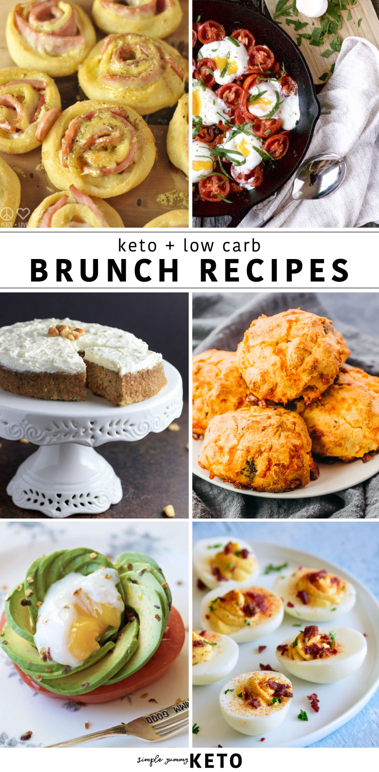 The best keto and low carb brunch recipes that everyone will rave about!