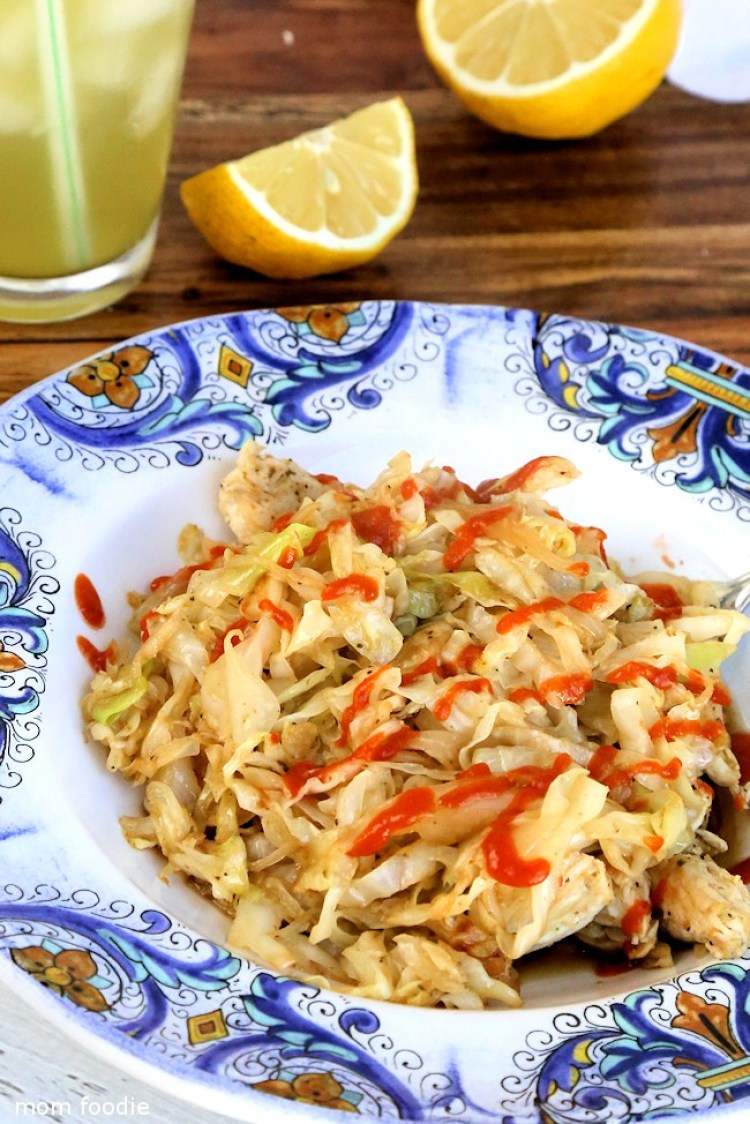 chicken and cabbage stir fry - 30 minute keto lunch recipes