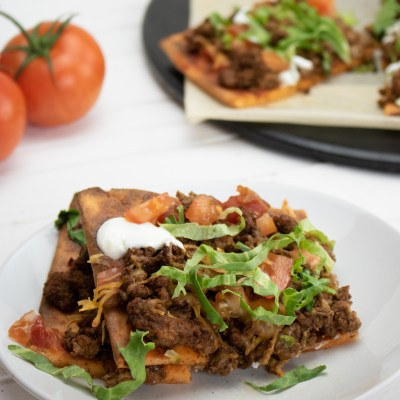 Keto Taco Pizza Recipe