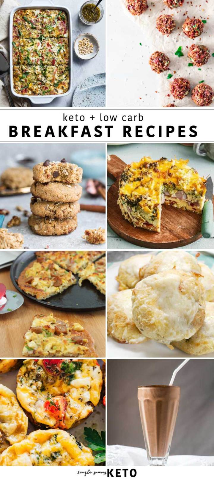keto and low carb breakfast recipes