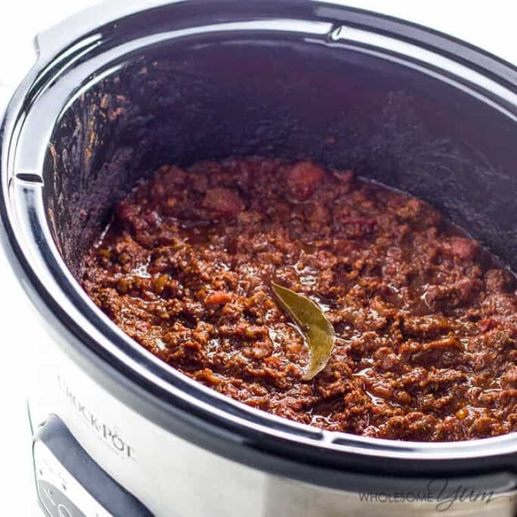 instant pot chili - keto and low carb