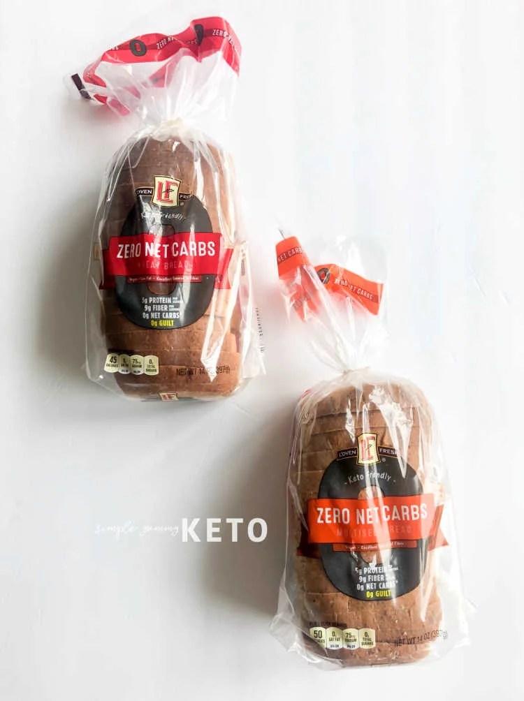 Aldi's keto bread