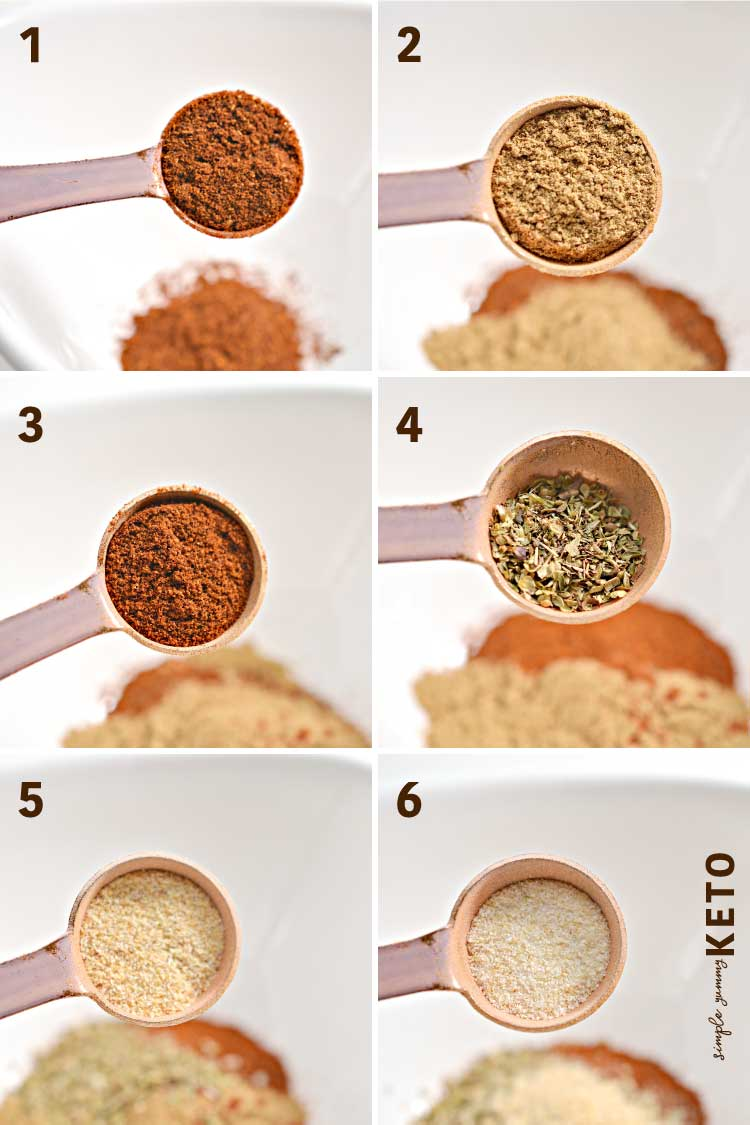 taco meatballs seasoning