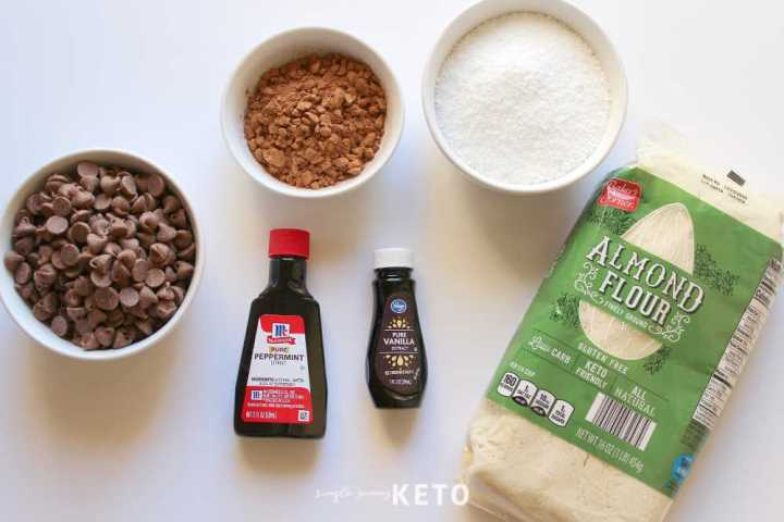 keto thin mints Girl Scout cookie ingredients