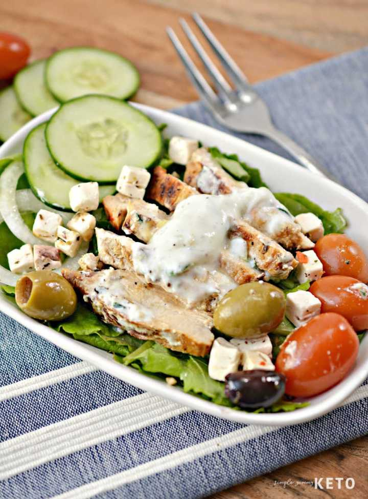 low carb greek chicken