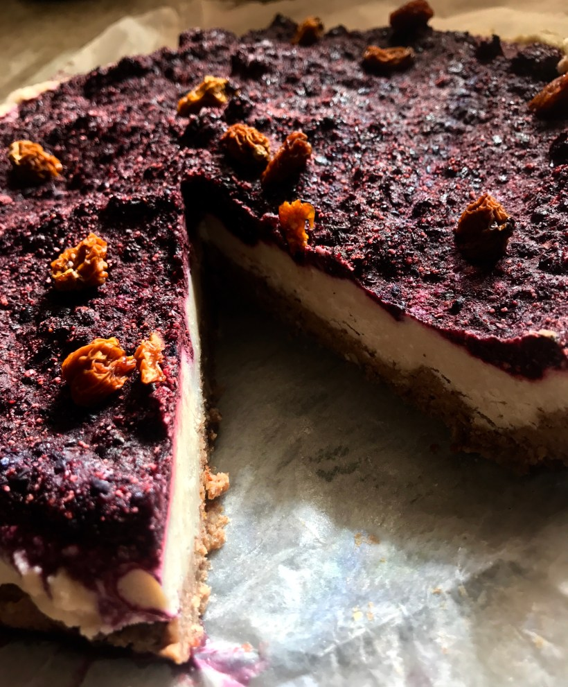 dairy free no bake cheesecake